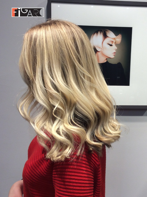 Air Touch Hair Coloring by award winning colorist Elena Bogdanets