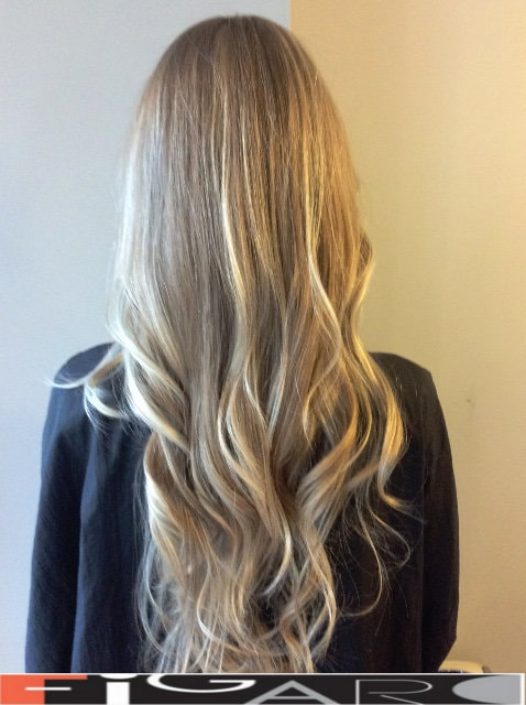 Long length hair cut ideas done by Elena Bogdanets Toronto
