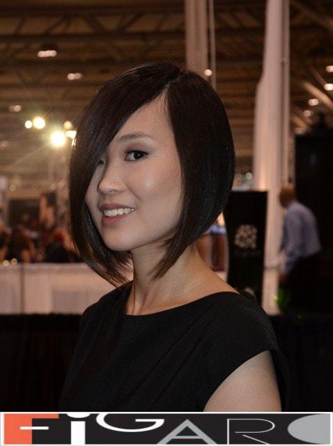 Ideas For Medium Length Hairstyles Images Asymmetrical