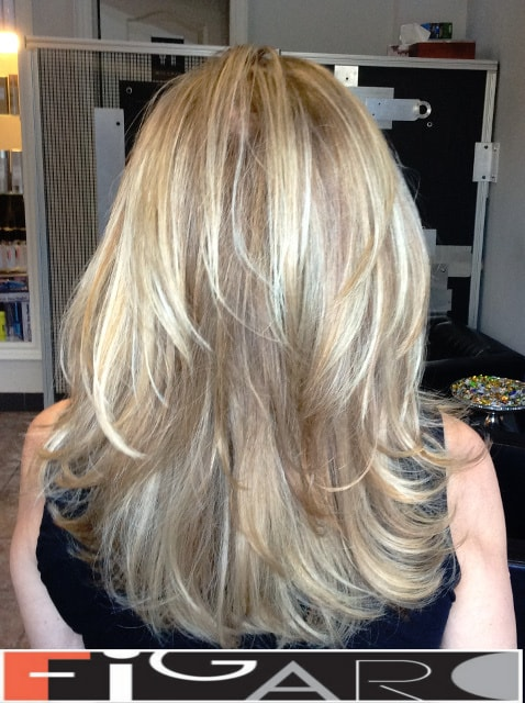 Highlights Hair Ideas done by Elena Bogdantes.