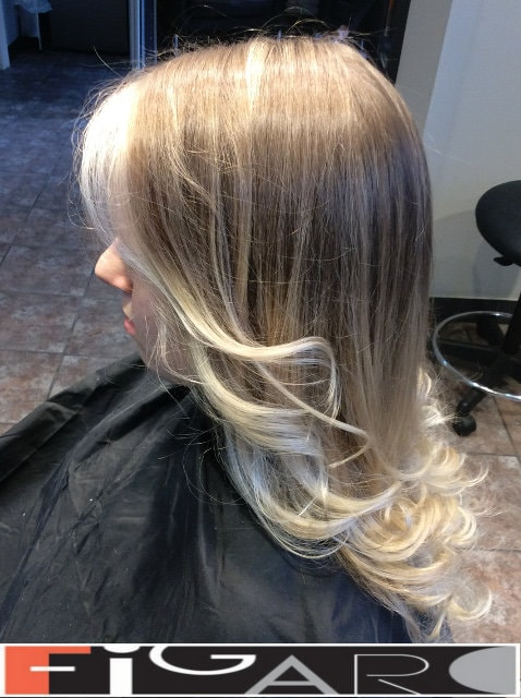 Ombre Hair Coloring Technique done by celebrity hair Colorist Elena Toronto