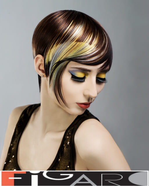 Hair stylist and colorist Elena Bogdanets